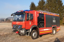 Gasilska brigada Ljubljana in Rosenbauer AT NEW